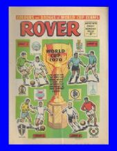Rover Comic 1970 World Cup May 23rd 1970